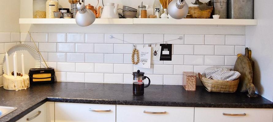 Keramične ploščice iz opeke za kuhinjo